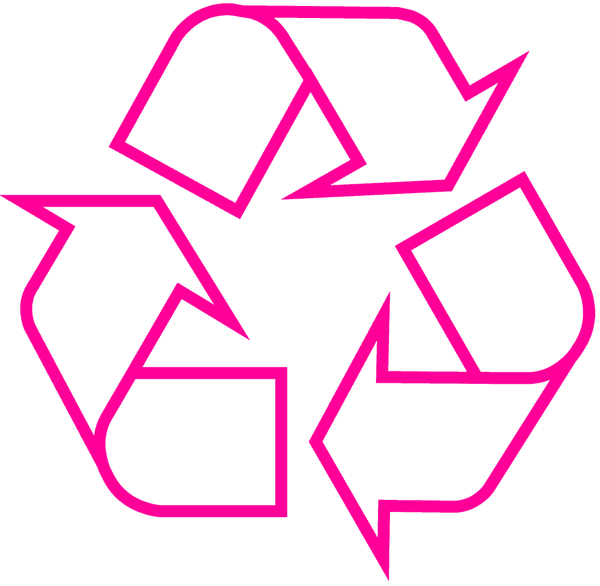 Download recycling symbol the original recycle logo recycling symbol icon outline magenta biocorpaavc