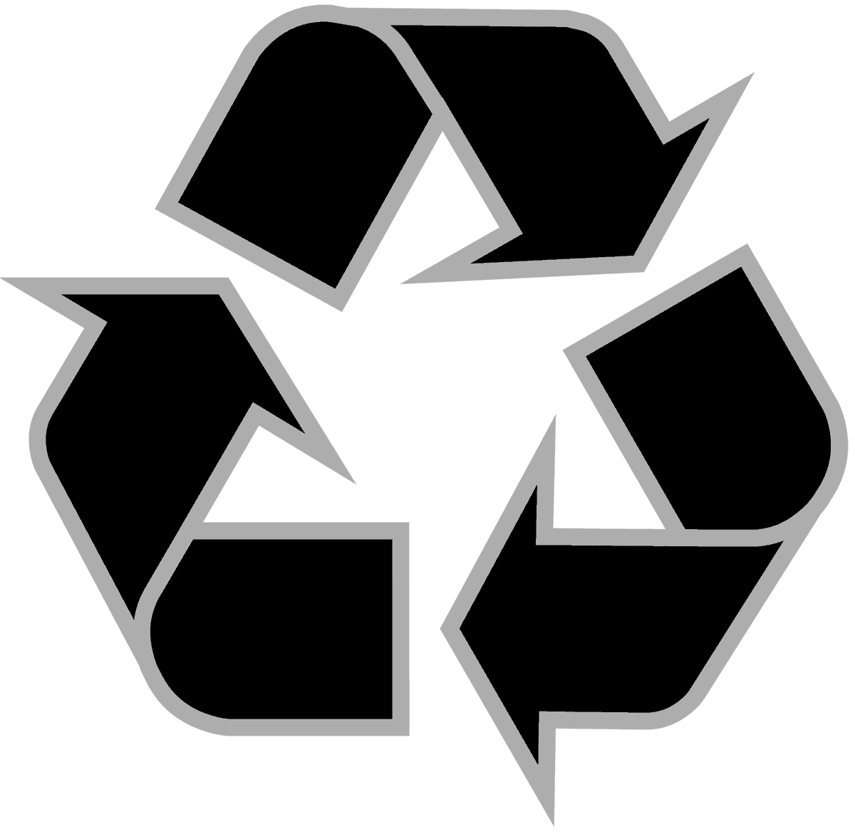 recycling-symbol-icon-outline-solid-black