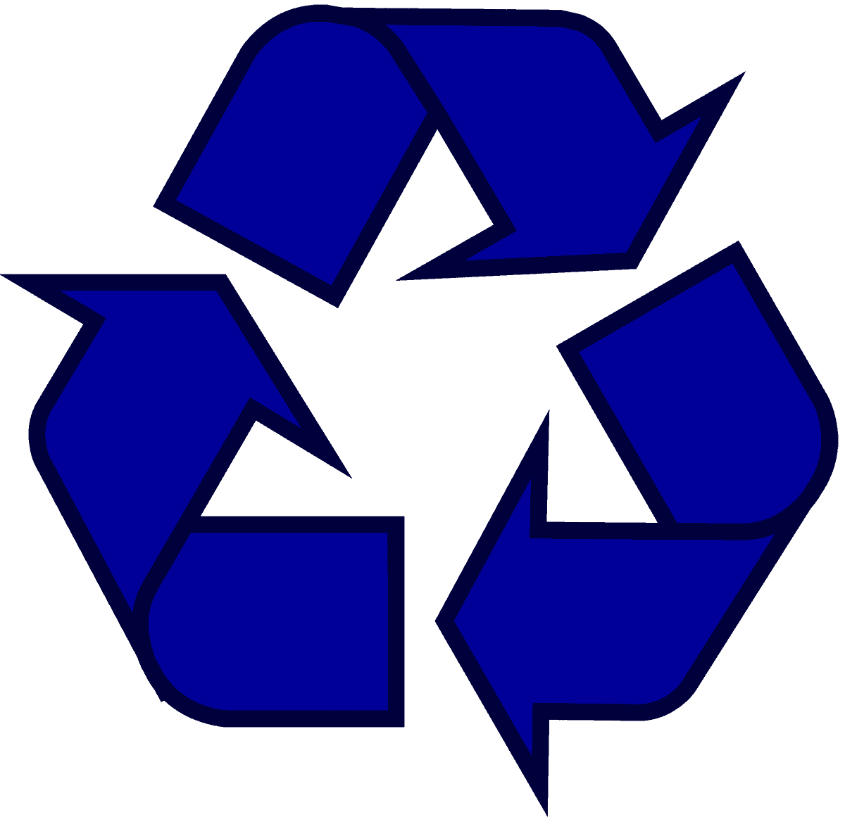 Image result for recycling blue