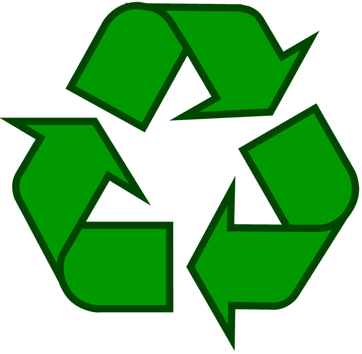 graphic about Recycling Sign Printable known as Recycling Emblem - Down load the Primary Recycle Brand