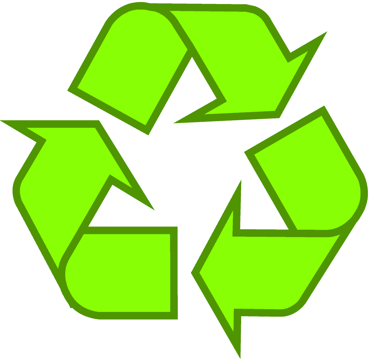 Download recycling symbol the original recycle logo recycling symbol icon outline solid light green buycottarizona Choice Image