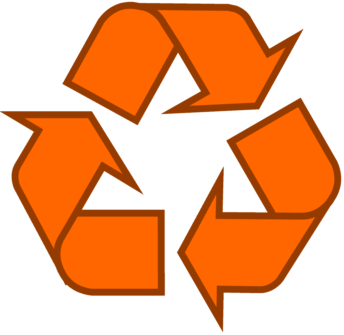 recycling-symbol-icon-outline-solid-orange