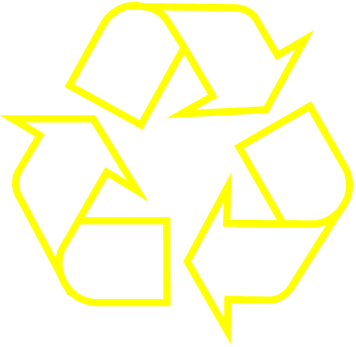 recycling-symbol-icon-outline-yellow