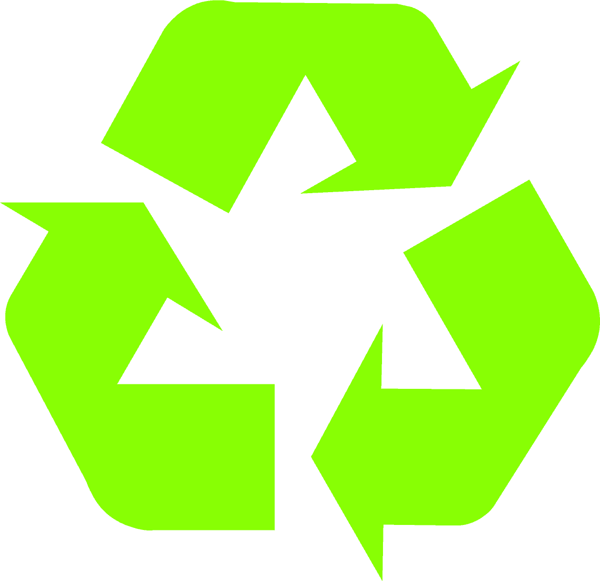 recycling-symbol-icon-solid-light-green