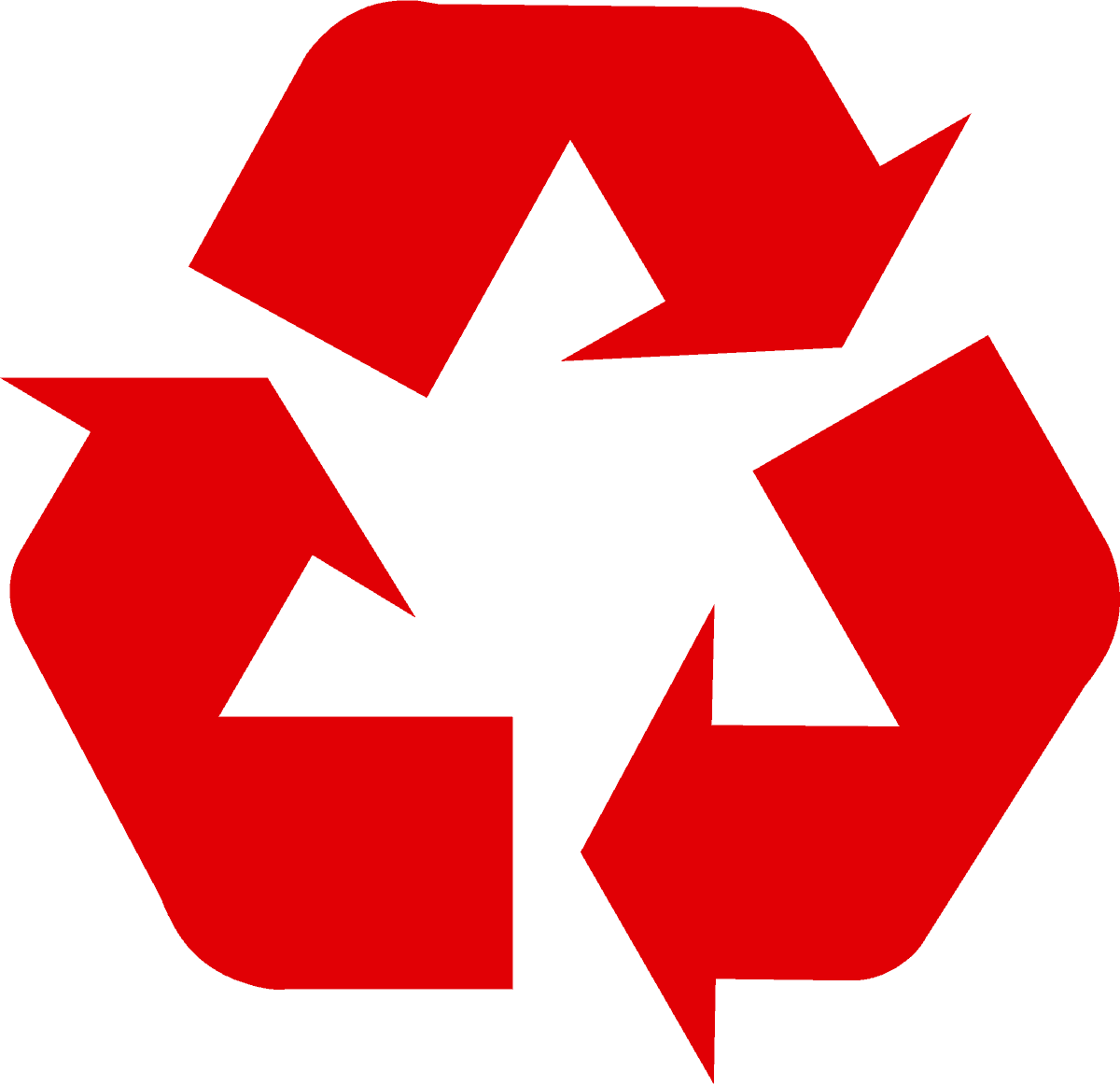 recycling-symbol-icon-solid-red