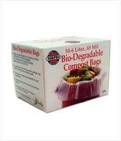 Norpro 50-Piece Bio Degradable Compost Bags