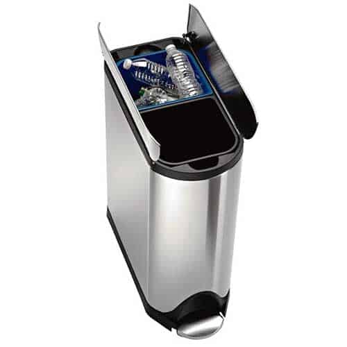 Best Dual Trash Cans Top 10 Two Compartment Recycling Bins