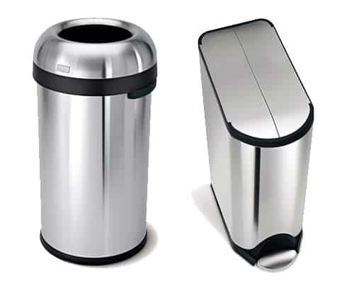 Trash Can And Recycling Bin Features Guide