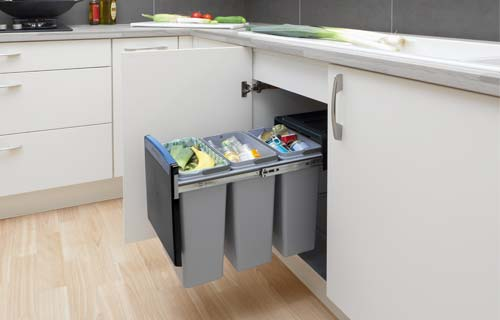 Place A Recycling Bin In Your Kitchen Bathroom And Home Office