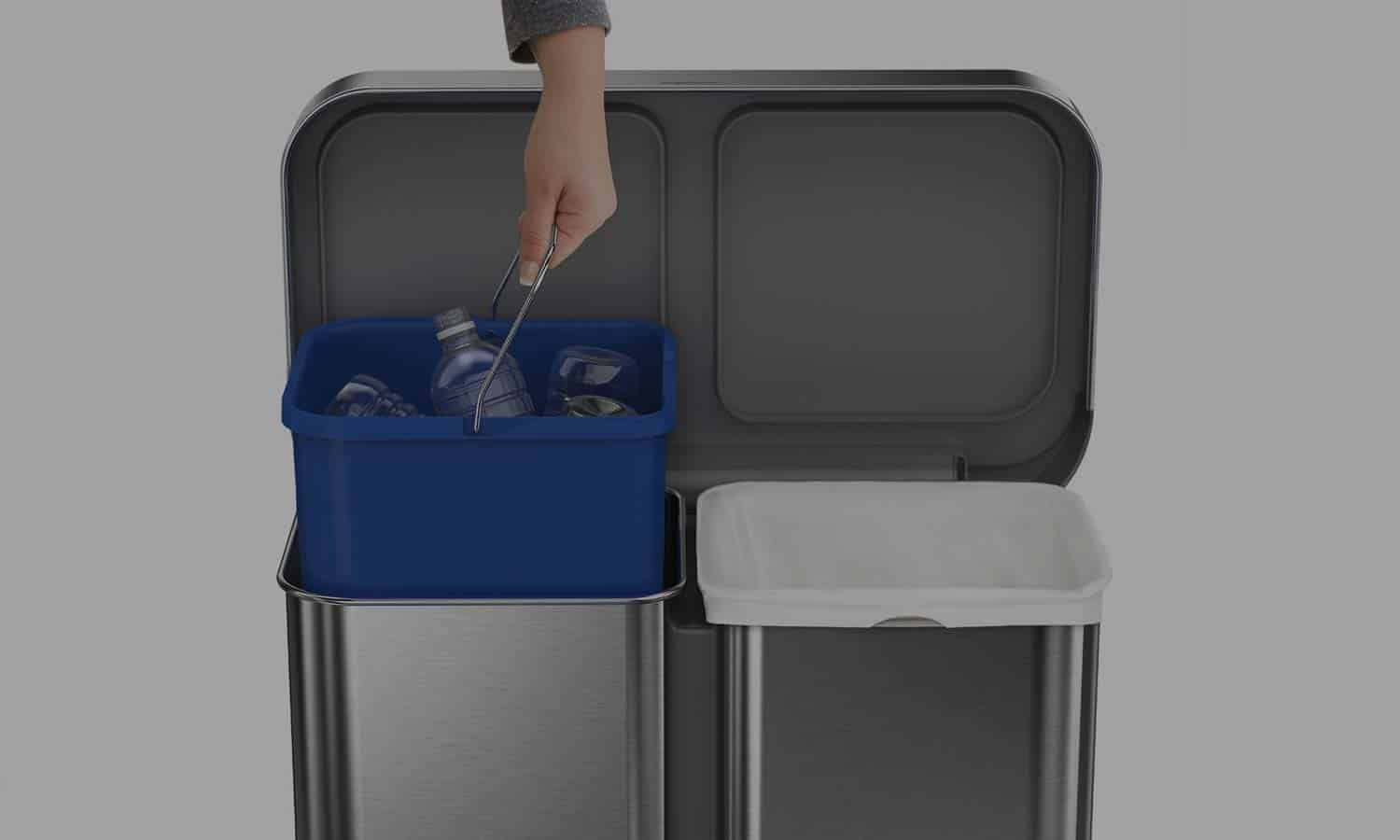 Recycling Bins For Home Kitchen Amp Office Best Trash Cans