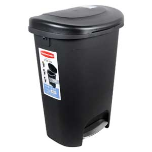 13-gallon-Rubbermaid-Step-On-Wastebasket-Trash-Can