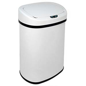 13 gallon office trash can with motion sensor