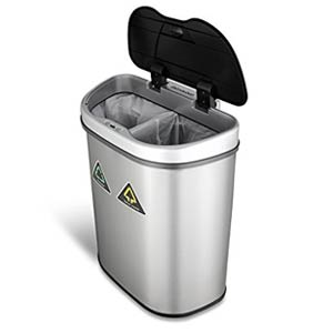 best touchless trash can ninestars