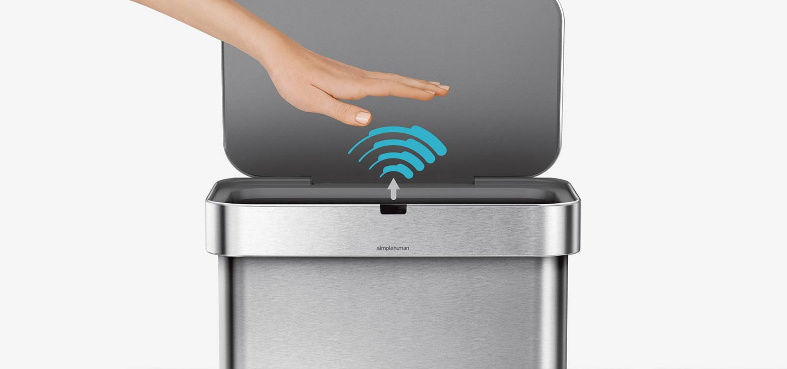 Best Touchless Trash Can With Automatic Motion Sensor Lid
