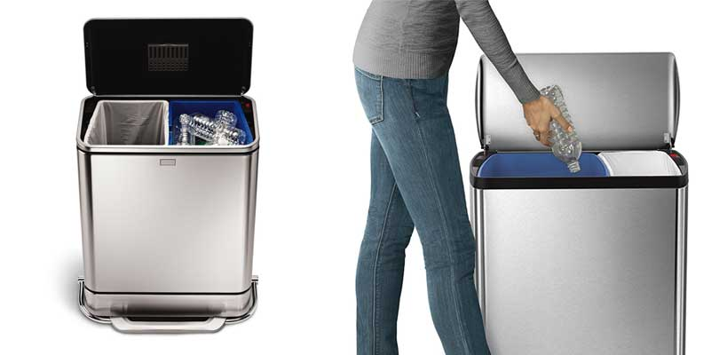 dual-recycling-bin-two-compartments