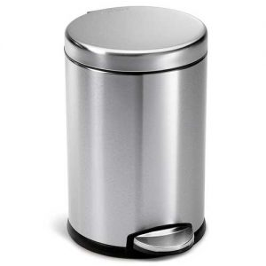 simplehuman-mini-round-step-trash-can