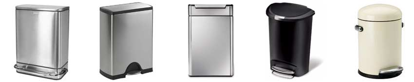 simplehuman-recycling-bins