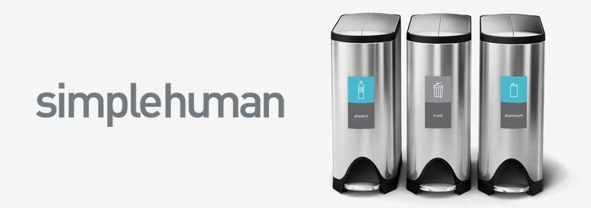 simplehuman-trash-cans