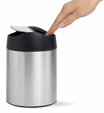 Small Trash Can For Bathroom And Restroom Recycling Bin