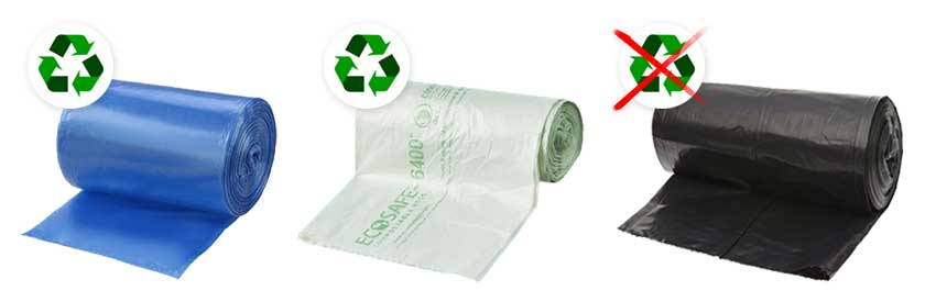 Recycling Bags Compole Trash