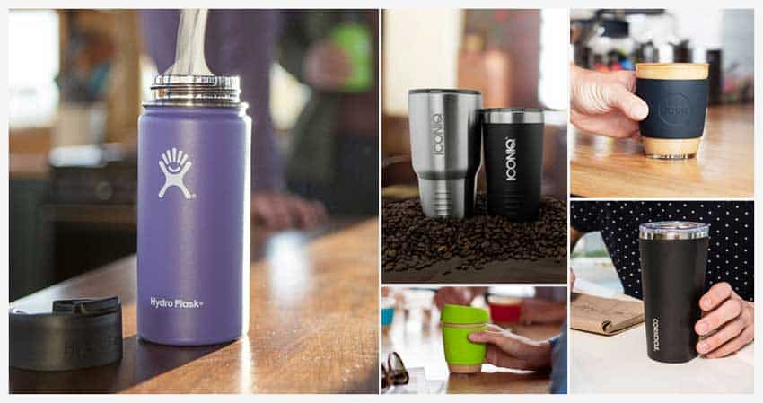 Reusable Coffee Cups, Tumblers & Travel Mugs