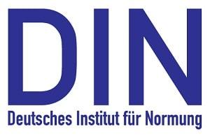 DIN standard - Deutsches Institut für Normung