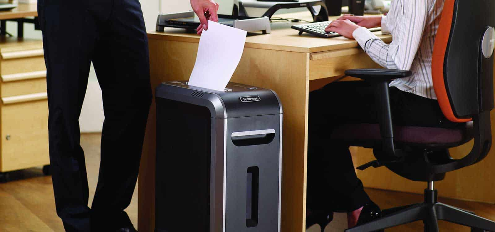 professional small business office paper shredder