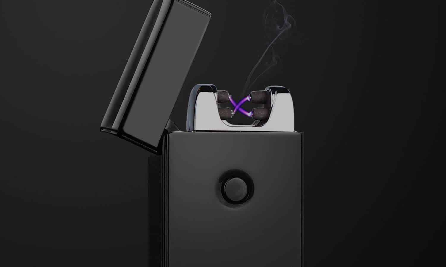 Rechargeable Electric Arc Plasma Lighters Single and Dual Arc