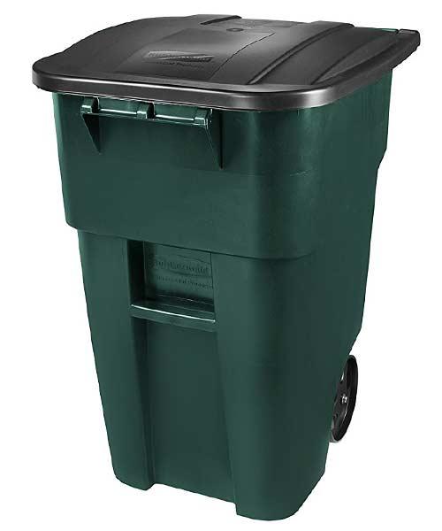 Rubbermaid-wheel-trash-can-compost-green