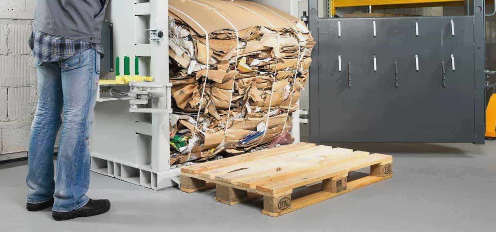 Cardboard Balers And Compactors Vertical Cardboard