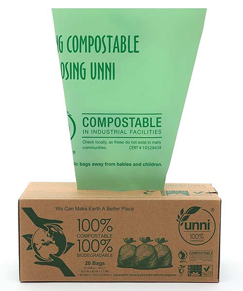 compostable-biodegradable-waste-bags-green
