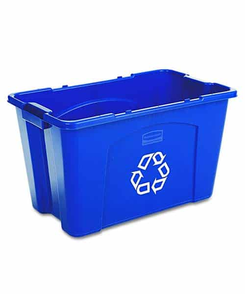 rubbermaid-commercial-stackable-recycling-bin-blue