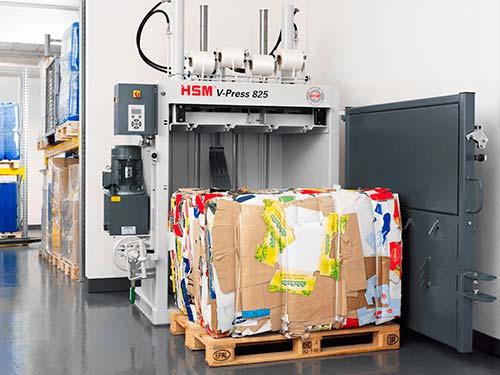 cardboard-baling-presses