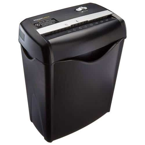 AmazonBasics-6-sheet-crosscut-shredder-machine