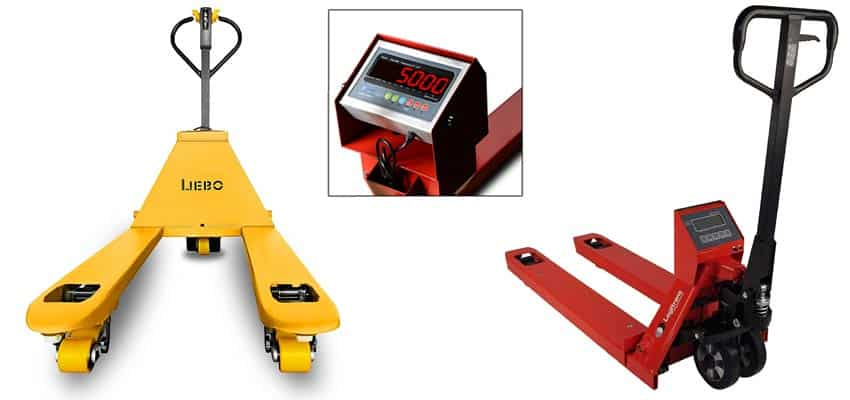 Pallet Jack with Scale - Pallet Trucks and Weighing Scale in One