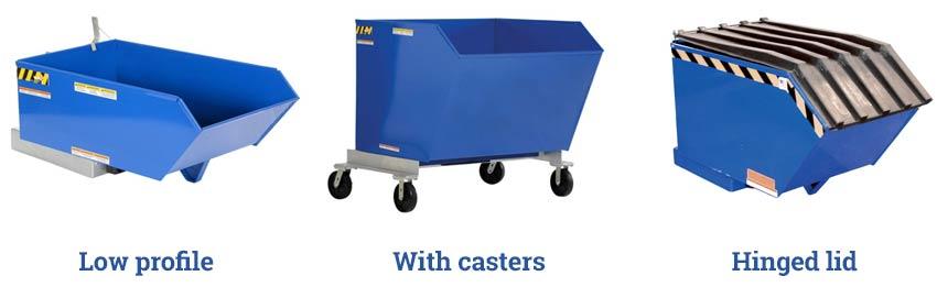 self-dump-hoppers-lid-casters-low-profile