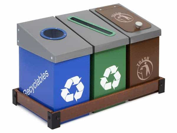 DeskMate-3-Bin-Recycling-Station