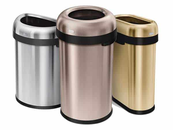 Simplehuman-Commercial-Open-Trash-Can