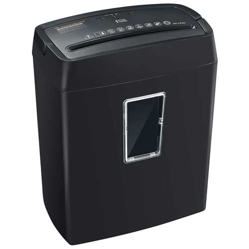 Bonsaii-6-Sheet-Cross-Cut-Paper-Shredder-portable