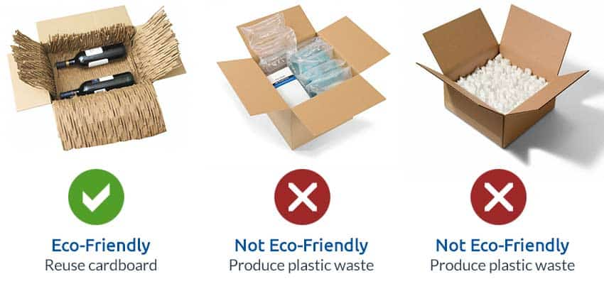 cardboard-packaging-vs-plastic-packaging-material