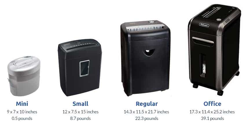 paper-shredder-size-comparison