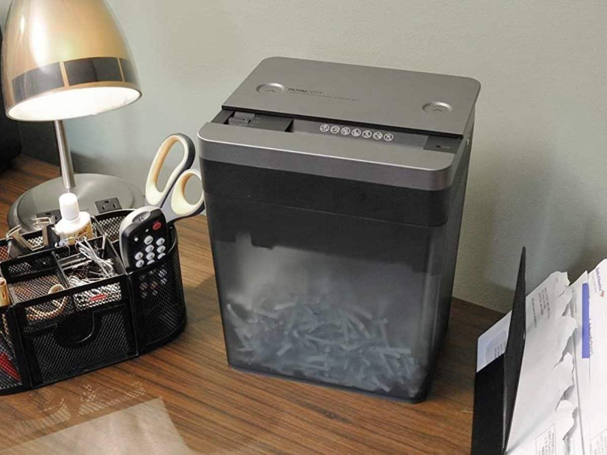 Small Paper Shredders For Desktop Compact Mini Shredders