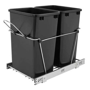 Best Trash Can Cabinets Tilt Out Free Standing Waste Bins