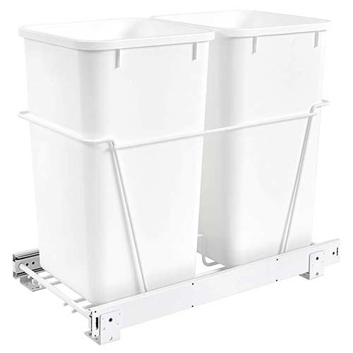 Rev-A-Shelf-RV-15PB-2-S-pull-out-trash-container
