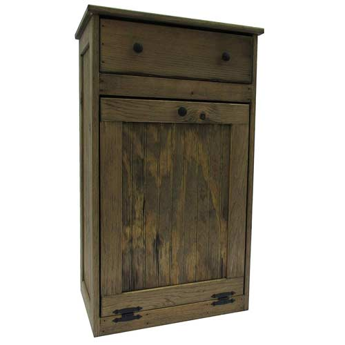Wooden-Tilt-Out-Trash-Bin-with-Drawer