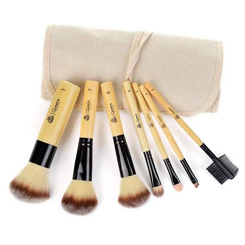 7-piece-bamboo-makeup-brush-set