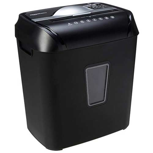 AmazonBasics-12-Sheet-Cross-Cut-Paper-and-Credit-Card-shredder-home-use