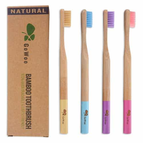 GoWoo-100%-Natural-Bamboo-Toothbrush-Soft