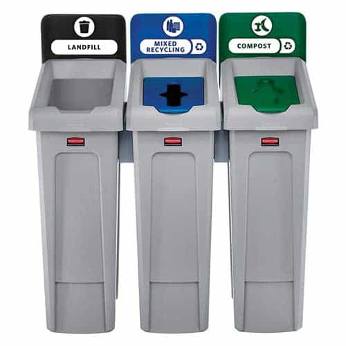 Rubbermaid-Commercial-Products-Slim-Jim-Recycling-Station