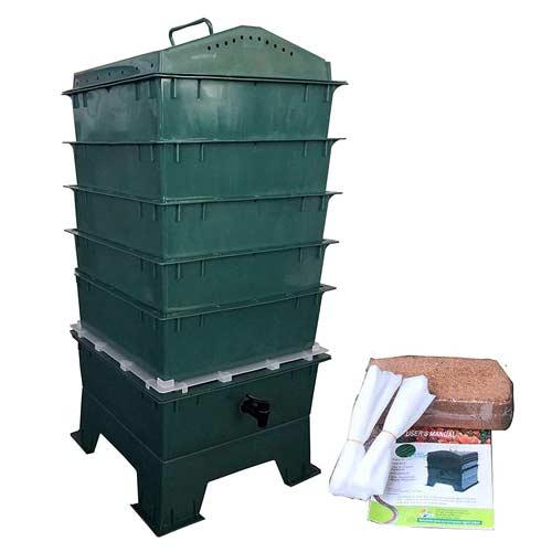 VermiHut-5-Tray-Worm-Compost-Bin
